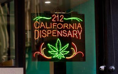2ONE2 California Dispensary on 212 California Street in San Francisco (Photo: Jason Doiy/ALM)